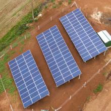 Energia Solar Rural 40,92 kWp 124 módulos Chapecó SC