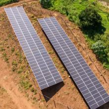 Energia Solar Rural 74,74 kWp 202 módulos Águas Frias SC