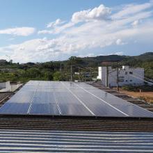 Energia Solar Comercial 16,50 kWp 50 módulos Abadia dos Dourados
