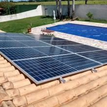 Energia Solar Residencial 9,02 kWp 22 módulos Campo Grande MS