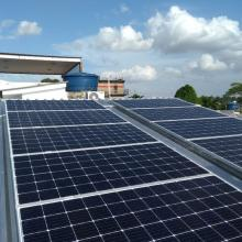 Energia Solar Residencial 9,80 kWp 28 módulos Manaus Amazonas