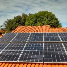 Energia Solar Residencial 4,45 kWp 11 módulos Palmas Tocantins
