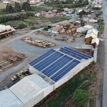 Energia Solar Comercial 84,48 kWp 256 módulos Major Vieira SC