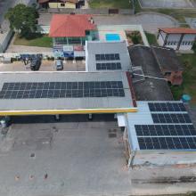 Energia Solar Comercial 33,21 kWp 82 módulos Lapa Paraná