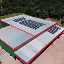 Energia Solar Comercial 80,52 kWp 244 módulos Mandirituba PR